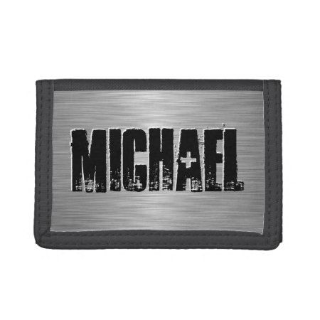 Personalized Name Custom Trifold Wallets - tap, personalize, buy right now!
