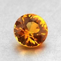 Loose Sapphires and Other Colored Gemstones | Brilliant Earth Beautiful orange sapphire