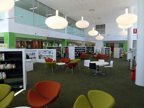 Ryde Library now open in it's new location in Top Ryde City #Ryde #TopRyde #TopRydeCity #TopRydeShoppingCentre #Library #CityofRyde