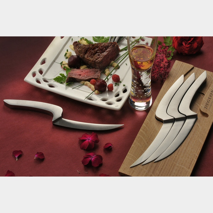 Déglon 4 Steak Knives - Mia Schmallenbach - divine!!