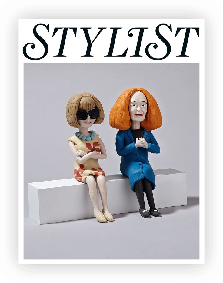 Here's a GIF of Claymation Grace Coddington at a Fashion Show | StyleCaster