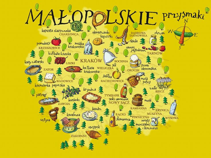 Culinary Map of Lesser Poland
