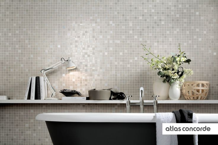 #RADIANCE | #Grey | #Mosaic | #AtlasConcorde | #Tiles | #Ceramic