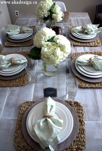 Modern Country Dining Room Reveal & 101 best Rustic Tabletops images on Pinterest | Floral arrangements ...
