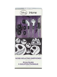 Disney iHome The Nightmare Before Christmas Jack Noise-Isolating Earbuds | Hot Topic