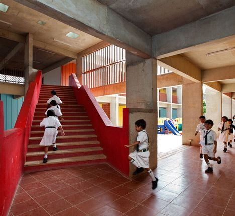 Indian Architect Sandeep Khosla Discusses DPS Kindergarten School In  Bangalore, India, Which Won The Education Category At Inside Festival