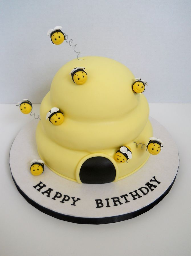 Bee Hive Cake                                                       …