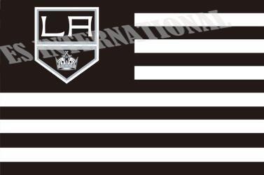 Лос-анджелес кингз флаг без звезды полосы нхл флаг 3 x 5 фут(ов) пользовательских баннер 90 x 150 см спорт флаг нержавеющей стали прокладки ES391