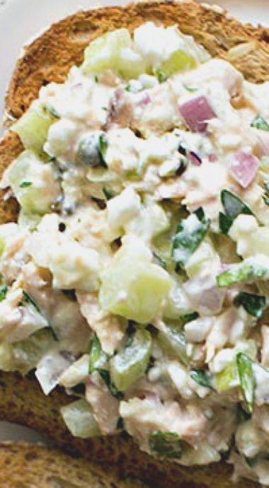Best Ever Tuna Salad Sandwich