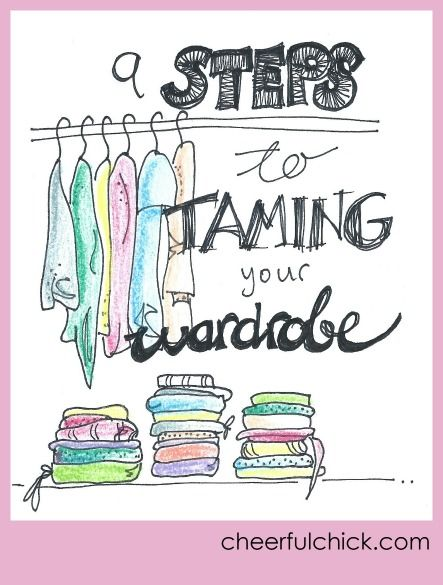 9 Steps to Taming Your Wardrobe: my tried and tested wardrobe-taming steps to an easy wardrobe edit and declutter.