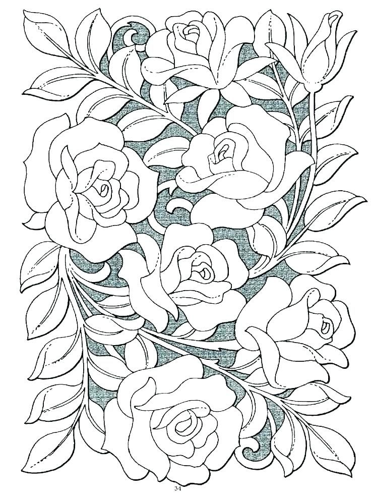 Butterfly And Rose Coloring Pages Free Rose Coloring Pages Flower Coloring Pages Coloring Pages