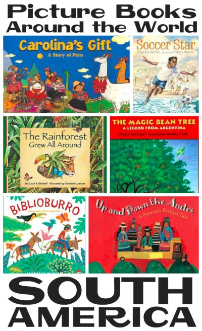 Picture Books about South America from Youth Literature Reviews.