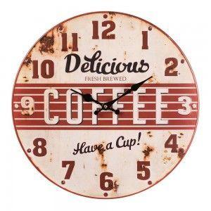 Este #reloj sólo hoy 12,99€... Hoy #oferta en hogaresconestilo.com #home #hogar #estilo #deco #decoración