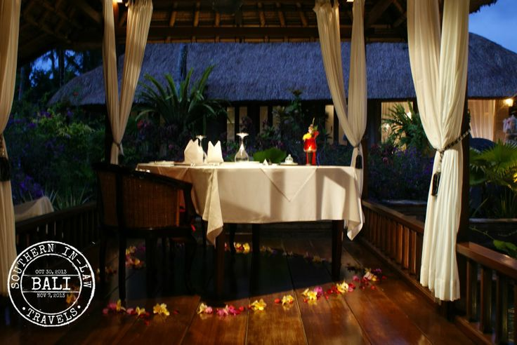 A candlelight degustation dinner for two at Ubud's VIceroy Bali CasCades Restaurant - Gluten free degustation menu