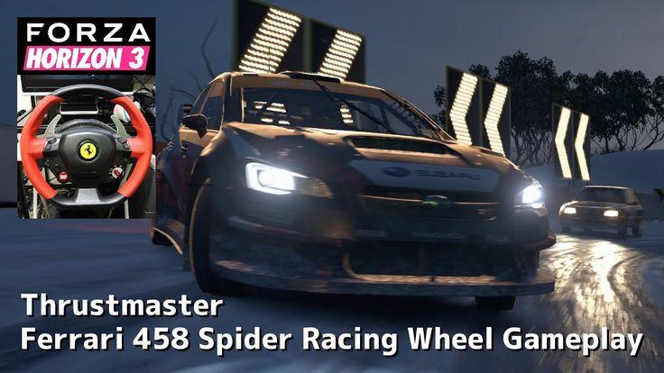 #4 Forza Horizon 3 Blizzard Mountain Racing Wheel Gameplay