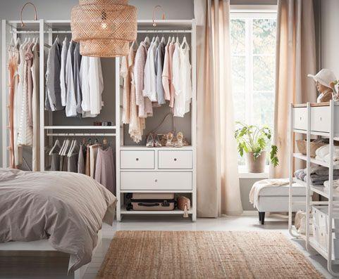 1000 id es sur le th me solutions de stockage domicile sur pinterest solu - Agencement dressing ikea ...