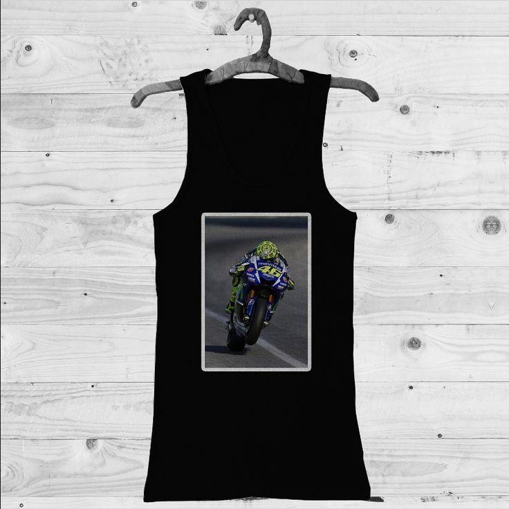 Valentino Rossi Movistar MotoGp Custom Tank Top | Men Tank Top | Woman Tank Top | T-shirt | Shirts
