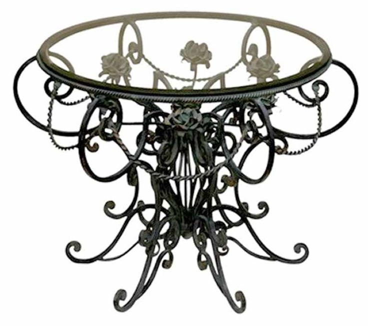 Furniture : Slate And Wrought Iron Coffee Table Wrought Iron Coffee Table  and IKEA Elegant Style Wrought Iron Coffee Table With Glass Top. - 114 Best Images About Wrought Iron Tables On Pinterest Furniture