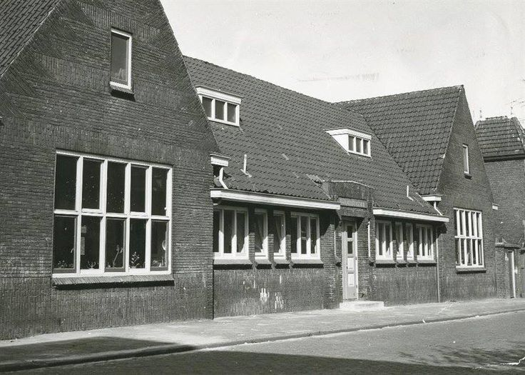 Kleuterschool in de Prins Hendrikstraat 1966