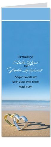 200 Wedding Programs - Hearts Tango Sea by WeddingPaperMasters.com. $298.00. Now you can have it all! We have created, at incredible prices & outstanding quality, more than 300 gorgeous collections consisting of over 6000 beautiful pieces that are perfectly coordinated together to capture your vision without compromise. No more mixing and matching or having to compromise your look. We can provide you with one piece or an entire collection in a one stop shopping experienc...