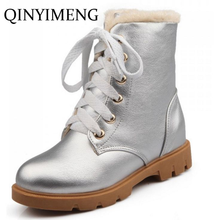 >> Click to Buy << 2016 Shoes Boots For Women Plus Size Boots For Big Ankles Snow Boot With Fur Height Increased Winter Shoes Botas Para La Nieve	 #Affiliate