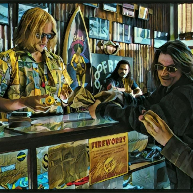 Ledger & Hedberg in Lords of Dogtown