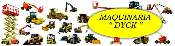 Maquinaria Dyck, maquinaria en ciudad cuauhtemoc, retroexcavadoras, equipo pesado, montacargas, elevadores, zanjadoras, cortadoras de cesped...
