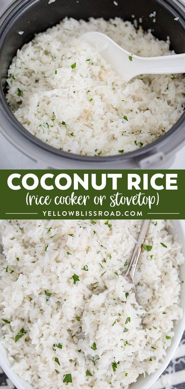 Kokosnussreis – Recipes from Yellow Bliss Road – …