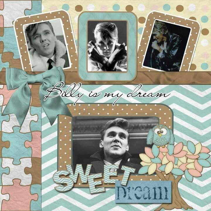 Billy Fury by Christine Rodbourne - Sweet Dream
