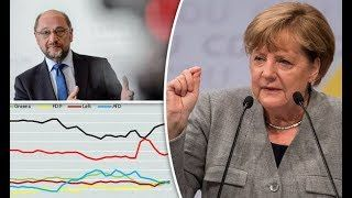 BREAKING  German election 2017 polls latest: Updates and poll tracker as Merkel takes on Schulz