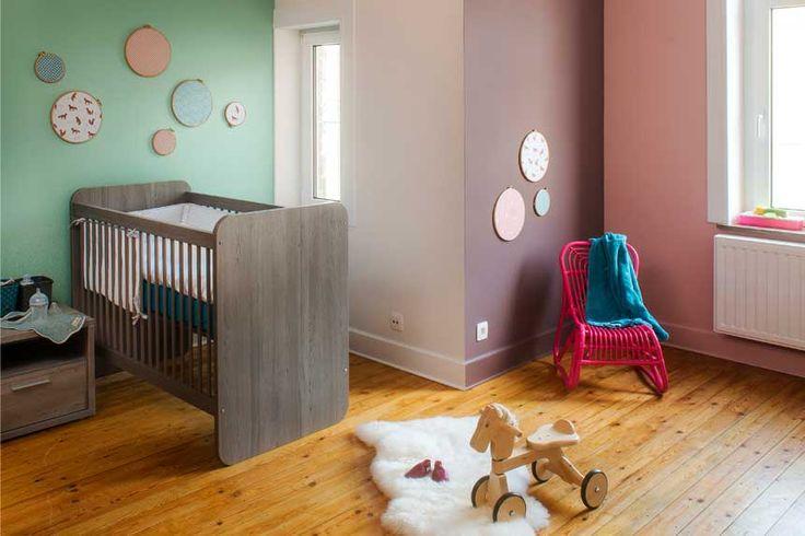 Le sommeil de b b en couleurs la chambre de b b pinterest for Kinderkamer deco