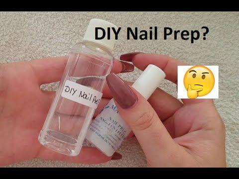 DIY Nail Prep/Dehytrator - YouTube