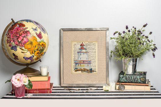 Lighthouse no 1 by secondprints on Etsy