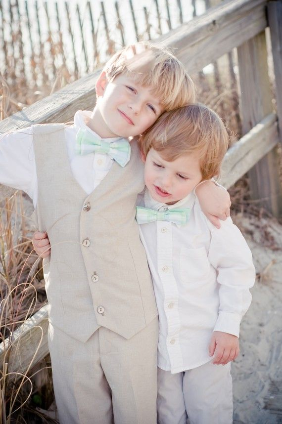 Boys Vest and Pant SetRing Bearer Portraits by BellaBeanCouture