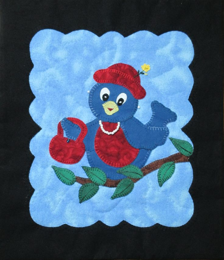 Tweet's Best Girl Wall Hanging Pattern - Companion to Tweet As Can Be