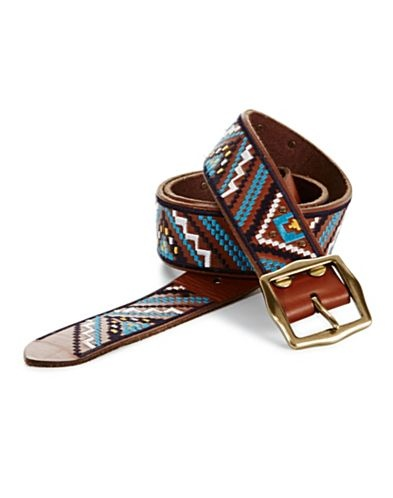 Embroidered Belt - Lucky Brand