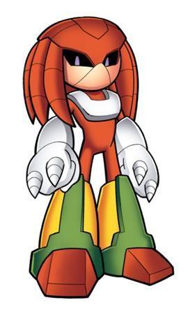 Knuckles the Echidna - MMKB, the Mega Man Knowledge Base - Mega Man 10, Mega Man X, characters, and more