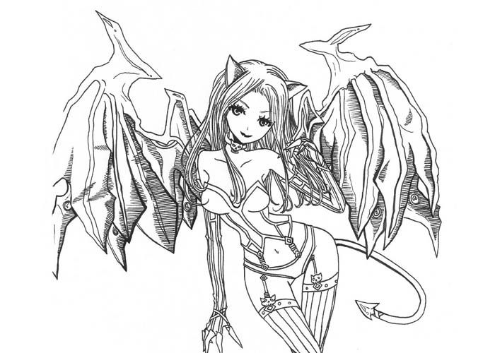 google image result for httpwwwcartoon coloring page fairy coloring pagesadult - Fantasy Coloring Pages Adults