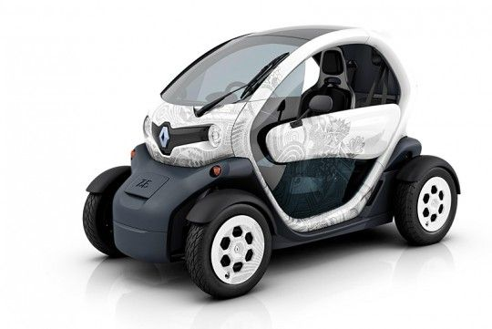 Renault Twizy, la voiture électrique tendance