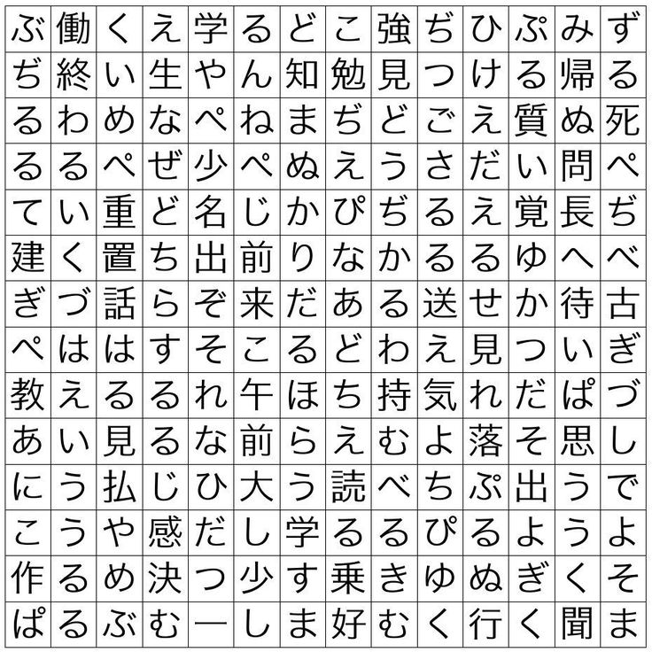 Japanese Hiragana Words: 1000+ Images About Japanese On Pinterest