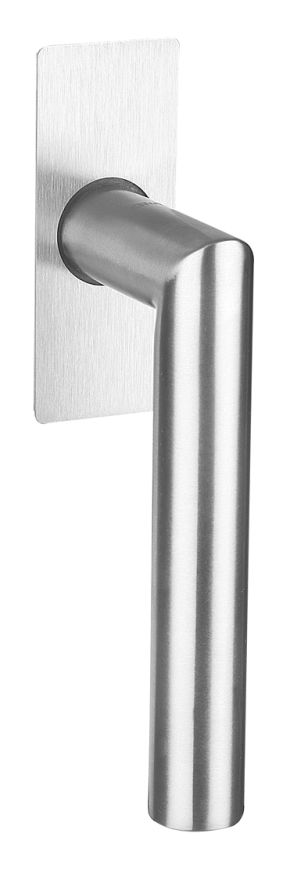 50007/51102 FF Stainless steel window handle flush mounted