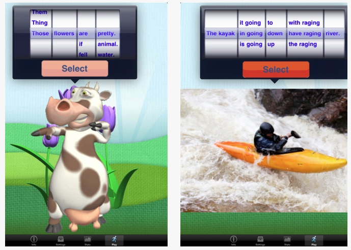 5 Useful Apps for EL Students:  Wordbook XL, Sentence Builder, Intro to Letters, Hello-Hello English, Berlitz My English Coach
