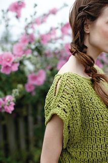 Crochet, lacy sweater // Cabazon by Sarah Hatton