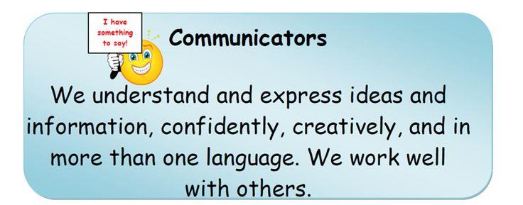 Communicators.