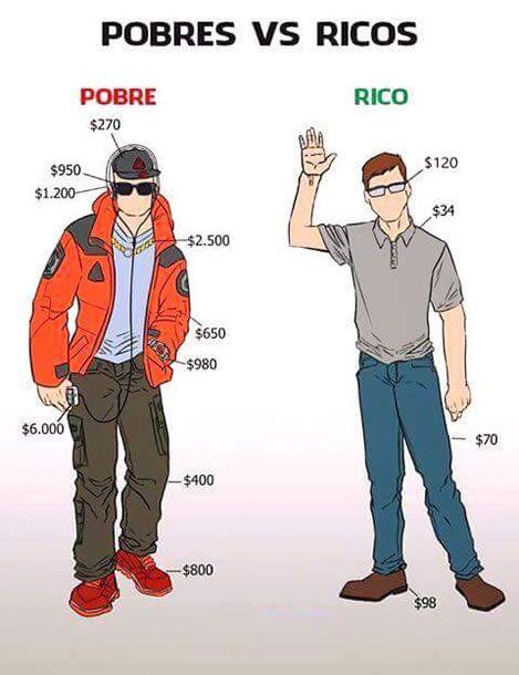 É exatamente por isso que o rico é rico!
