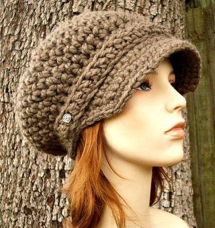 Вязаные шапки для девочек. Часть 2. (фото) | Crochet hats ...
