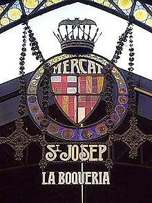 La Boqueria, Barcelona, Spain
