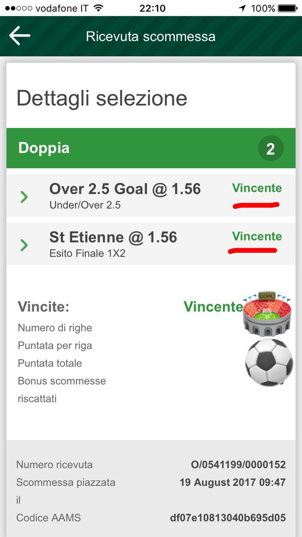 💰🏟 CASSA NEL GRUPPO PRIVATO 🏟💰  Giornata ricca di gol in Francia 🇫🇷  Per noi un buon raddoppio quota 2.45 ✌🏻