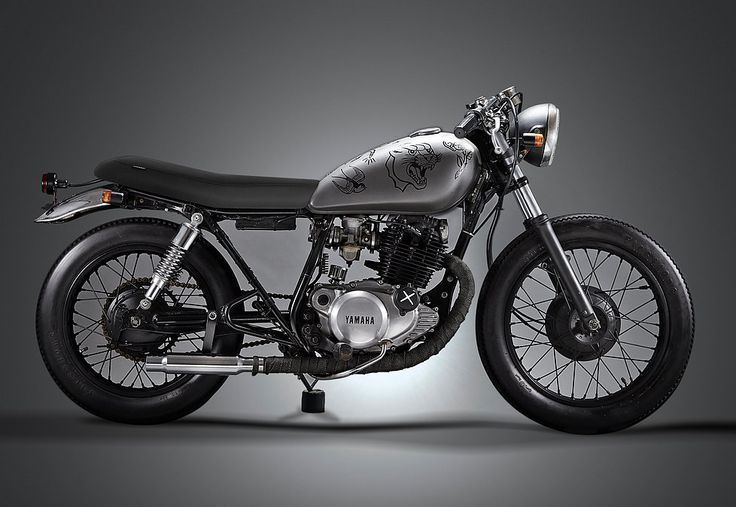 Custom motorcycle parts and aftermarket motorcycle parts for the Yamaha SR250 and much more