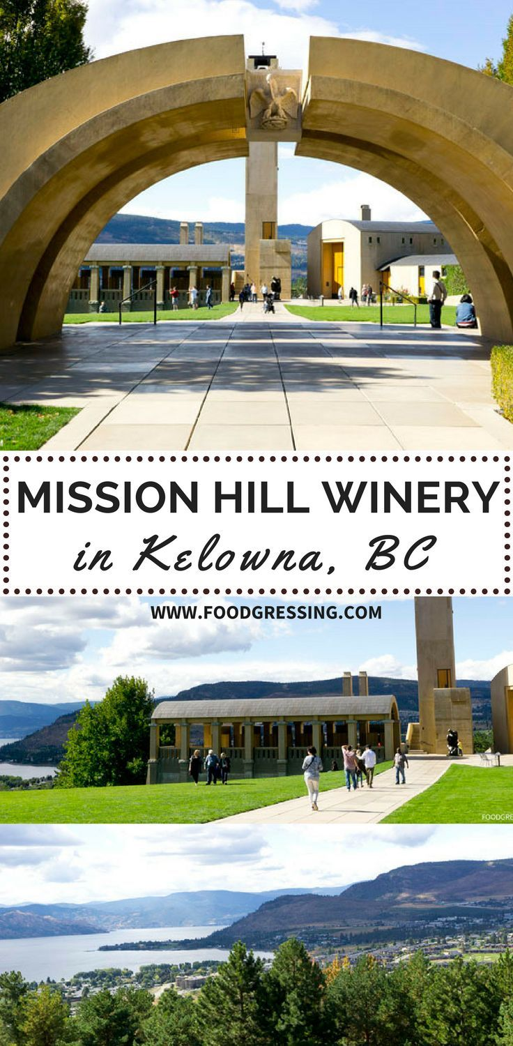 No visit to the Okanagan region would be complete without a stop at the world renowned Mission Hill Winery in West Kelowna.  Known for their award winning wines, handsome architecture against breathtaking views of mountains and lake, Mission Hill Estate is certainly a top place to visit for locals and visitors alike. #kelowna #travelblog #travelblogger #foodgressing